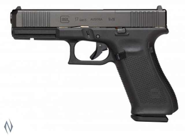 GLOCK 17 9MM FULL SIZE 10 SHOT GEN5 FS 114MM Image
