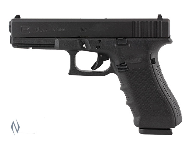 GLOCK 17 9MM FULL SIZE 10 SHOT GEN4 114MM Image