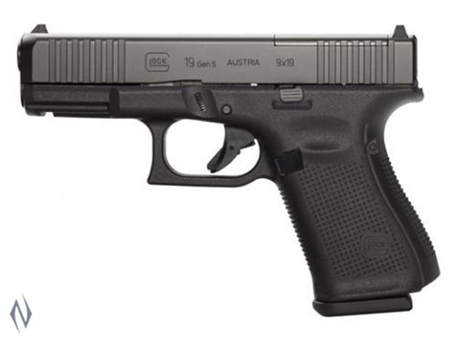 GLOCK 19 9MM COMPACT 10 SHOT GEN5 FS 102MM Image