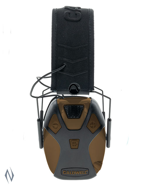 CALDWELL EMAX PRO ELECTRONIC EAR MUFFS FDE Image
