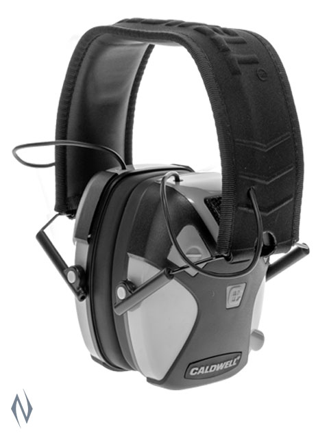 CALDWELL EMAX PRO ELECTRONIC EAR MUFFS GREY Image