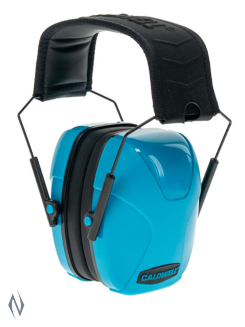 CALDWELL YOUTH PASSIVE EAR MUFFS NEON BLUE Image