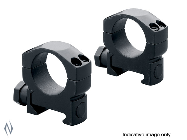 LEUPOLD MARK 4 34MM RINGS MED MATTE (ALLUMINUM) Image