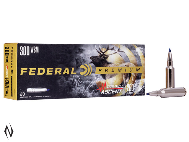 FEDERAL 300 WSM 200GR TERMINAL ASCENT Image