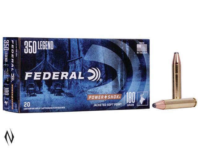 FEDERAL 350 LEGEND 180GR SP POWER-SHOK Image