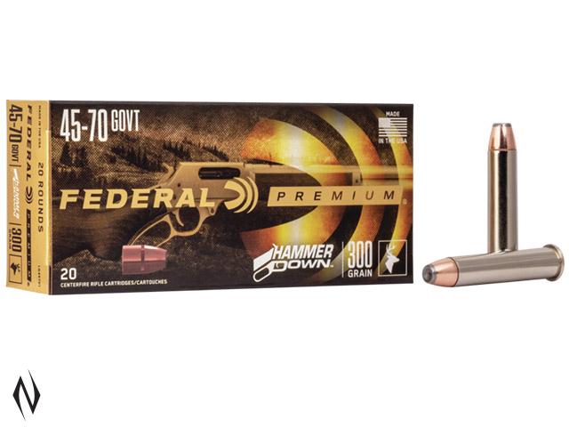 FEDERAL 45-70 GOVT 300GR FN HAMMER DOWN Image