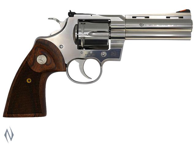 COLT PYTHON STAINLESS 357 MAG 107MM 6 SHOT Image