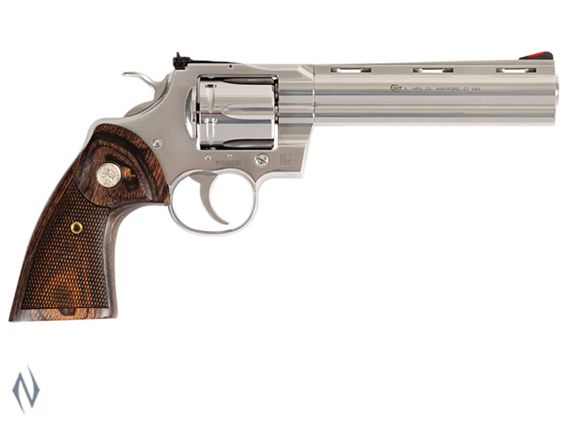 COLT PYTHON STAINLESS 357 MAG 152MM 6 SHOT Image