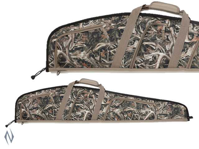 "ALLEN USA SCOPED RIFLE CASE BONZ CAMO 3 POCKET 46"" Image"
