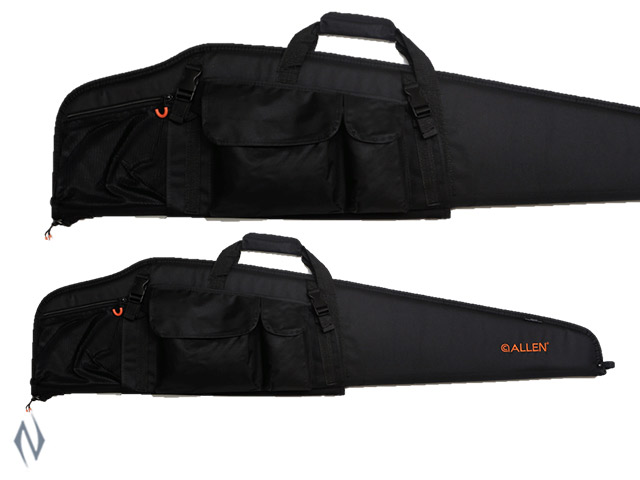 "ALLEN USA SCOPED RIFLE CASE BLK / ORANGE 3 POCKET 46"" Image"
