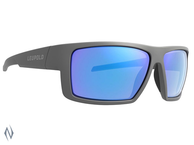 LEUPOLD SUNGLASSES SWITCHBACK MATTE GREY BLUE MIRROR Image