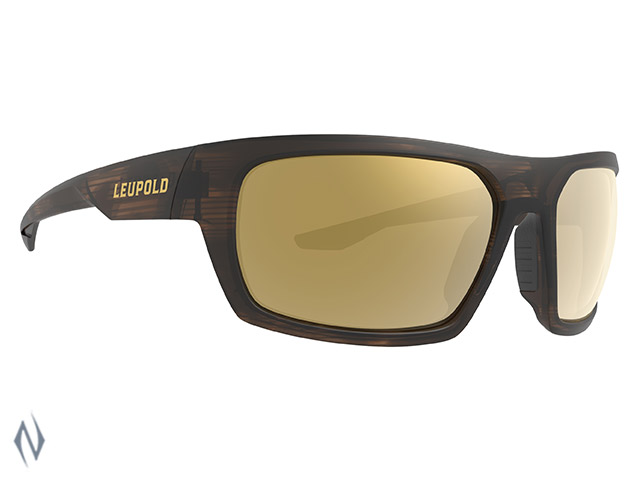 LEUPOLD SUNGLASSES PACKOUT MATTE TORTOISE BRONZE MIRROR Image