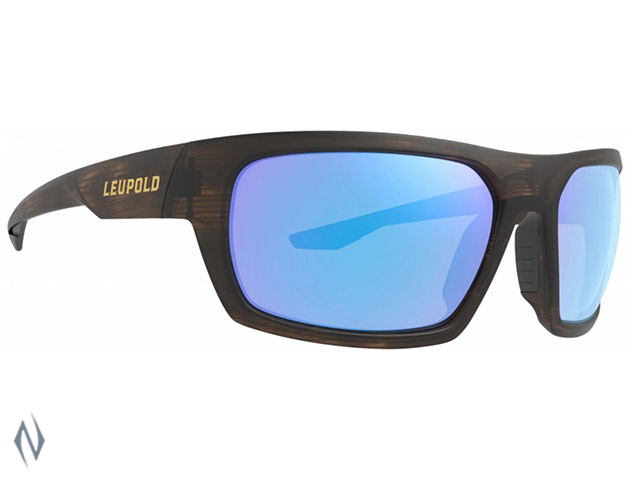 LEUPOLD SUNGLASSES PACKOUT MATTE TORTOISE BLUE MIRROR Image