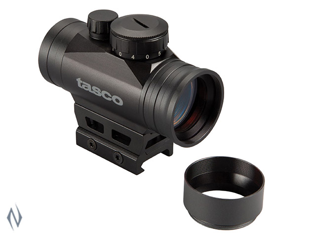 TASCO PROPOINT RED DOT 1X30 3 MOA WEAVER MOUNT Image