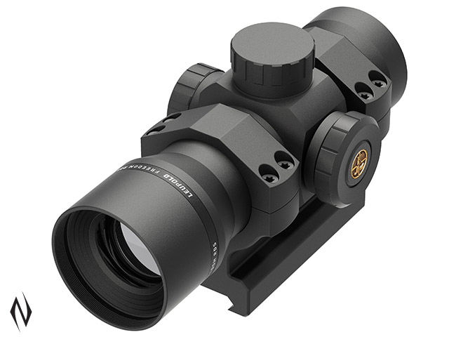 LEUPOLD FREEDOM RDS BLACK RING 1X34 34MM RED DOT 1 MOA DOT + MOUNT Image