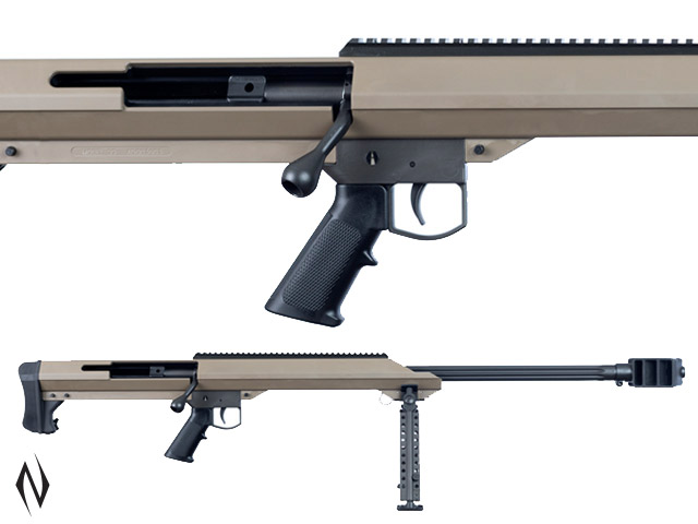 "BARRETT M99 .416 BARRETT 32"" SINGLE SHOT FDE WITH BIPOD Image"