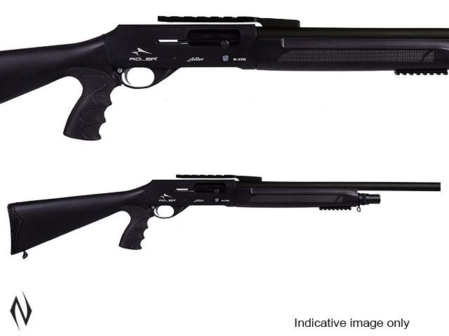 """ADLER B220 12G 22"""" RIFLED PISTOL GRIP STRAIGHT PULL SHOTGUN 5 SHOT Image"""
