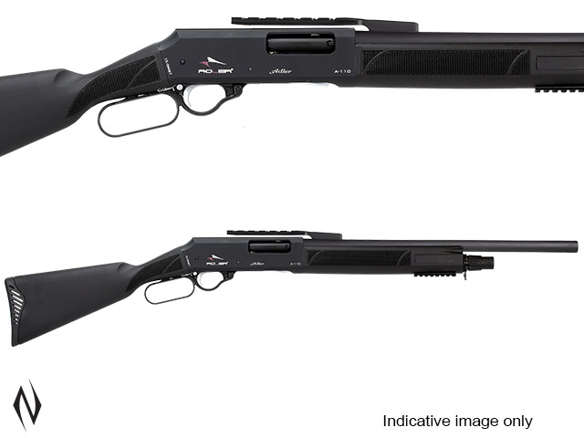 "ADLER A110 12G 22"" RIFLED SYNTHETIC LEVER ACTION SHOTGUN 5 SHOT Image"