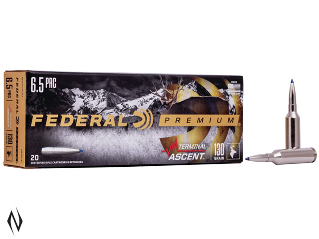 FEDERAL 6.5 PRC 130GR TERMINAL ASCENT Image