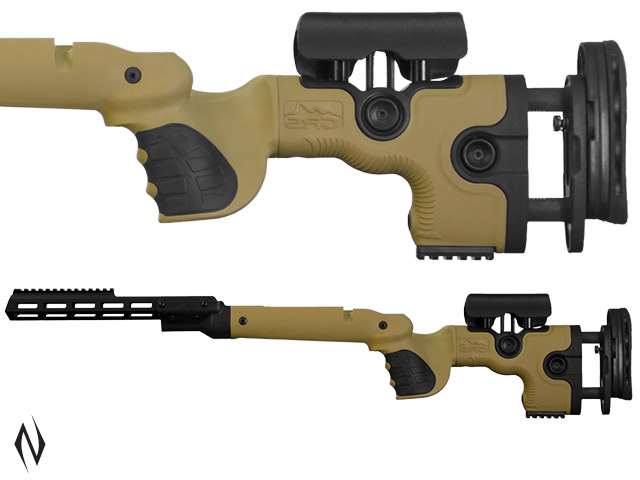 GRS WARG STOCK TIKKA CTR BROWN LEFT HAND Image