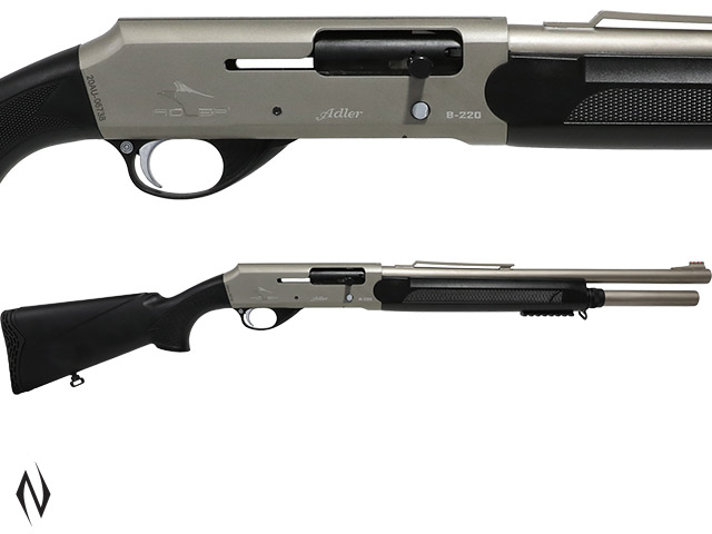 "ADLER B220 12G 20"" ALL WEATHER STRAIGHT PULL SHOTGUN 7 SHOT Image"