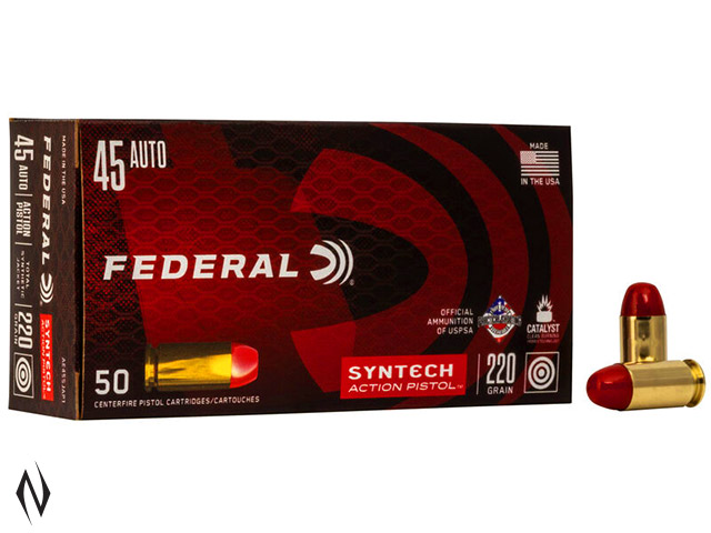 FEDERAL 45 ACP 220GR TSJ SYNTECH ACTION PISTOL AMERICAN EAGLE Image