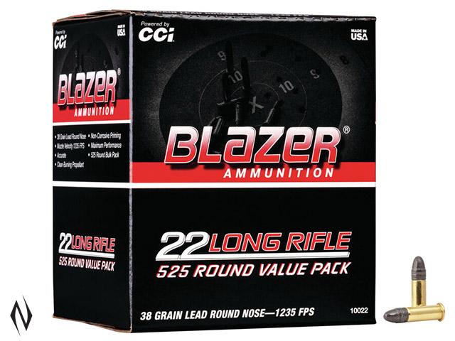 CCI 22LR BLAZER 38GR HP HV 525 PK Image