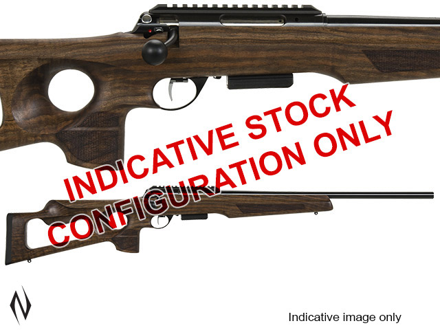 ANSCHUTZ 1771D 17 HORNET 5 SHOT THUMBHOLE STOCK RIFLE Image
