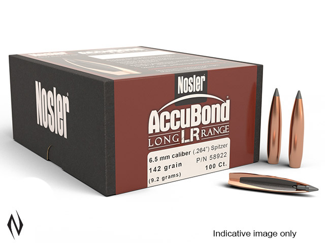 NOSLER 6.5MM 150GR SP ACCUBOND LR 100PK Image