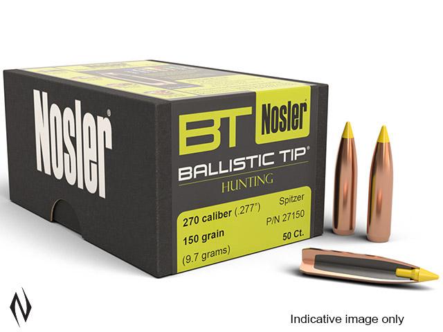 NOSLER 270 170GR BALLISTIC TIP 50PK Image