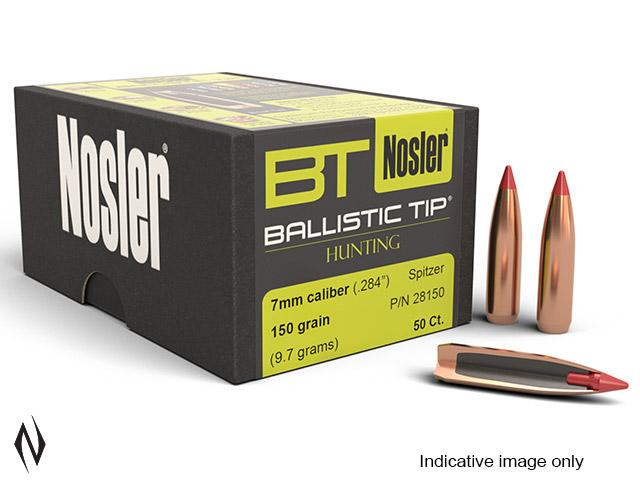 NOSLER 7MM 160GR BALLISTIC TIP 50PK Image