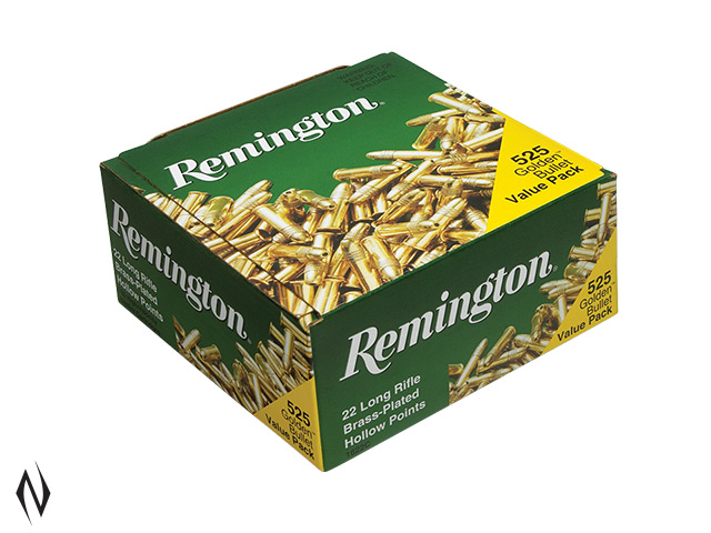 REMINGTON 22LR 36GR HV HP GOLDEN BULLET 525 PK 1280FPS Image