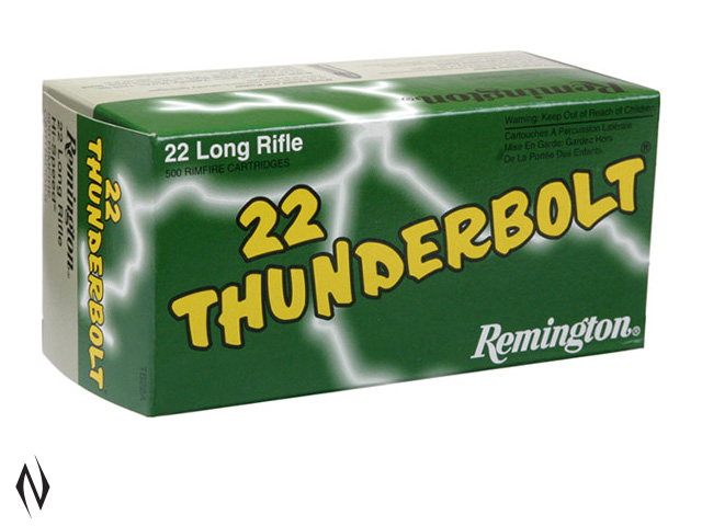 REMINGTON 22LR 40GR HV RN THUNDERBOLT 1255FPS Image