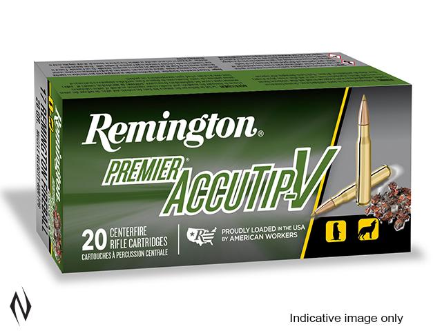REMINGTON 223 REM 55GR PREMIER ACCUTIP V Image