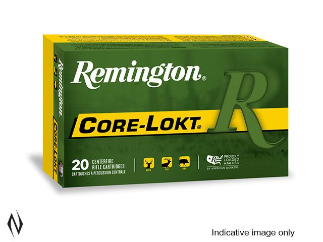 REMINGTON 6MM REM 100GR PSP CORE LOKT Image