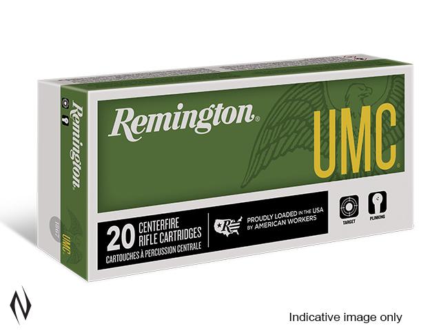 REMINGTON UMC 30 CARBINE 110GR FMJ 50 PK Image