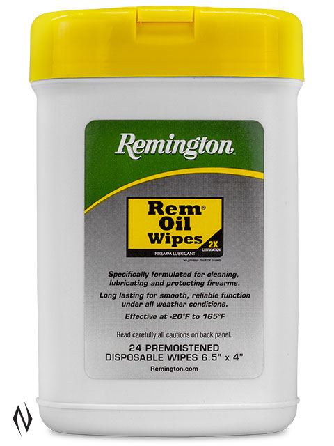 REMINGTON REM OIL POP UP WIPES 24PK Image