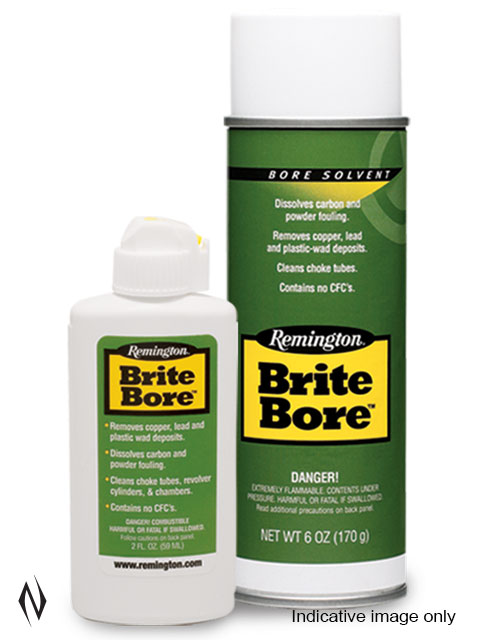REMINGTON BRITE BORE SOLVENT 6OZ AEROSOL Image
