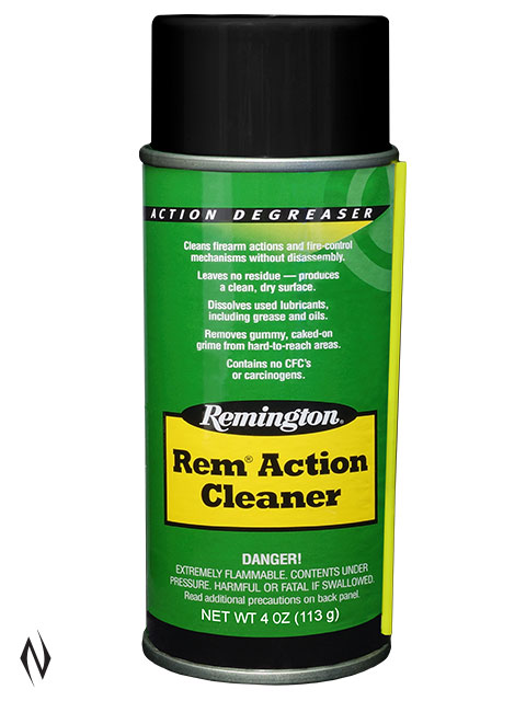REMINGTON REM ACTION CLEANER 4OZ AEROSOL Image