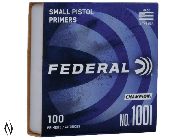 FEDERAL PRIMER 100 SMALL PISTOL Image