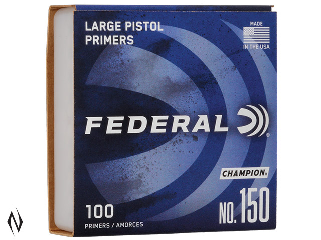 FEDERAL PRIMER 150 LARGE PISTOL Image