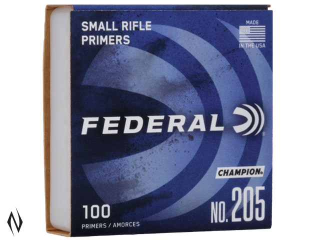 FEDERAL PRIMER 205 SMALL RIFLE Image