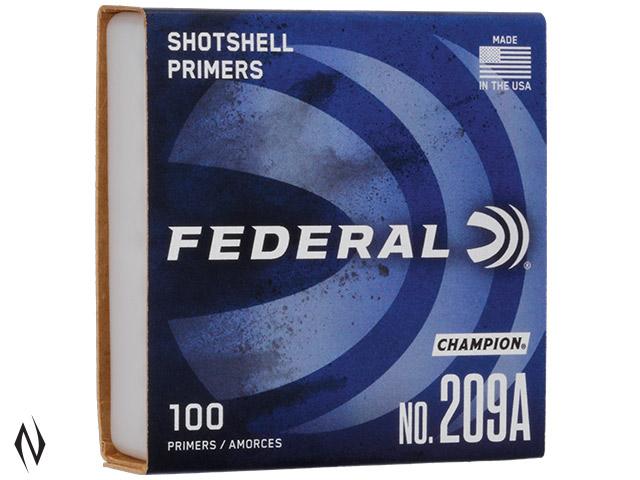 FEDERAL PRIMER 209A SHOTSHELL Image