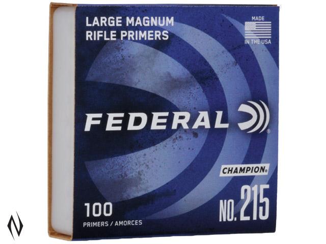 FEDERAL PRIMER 215 LARGE RIFLE MAGNUM Image