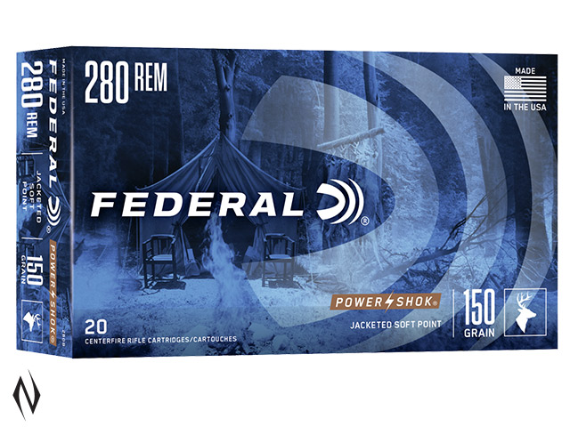 FEDERAL 280 REM 150GR SP POWER-SHOK Image