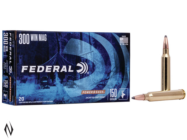 FEDERAL 300 WIN MAG 150GR SP POWER-SHOK Image