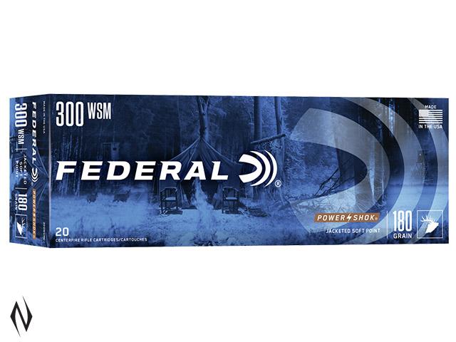 FEDERAL 300 WSM 180GR SP POWER-SHOK Image