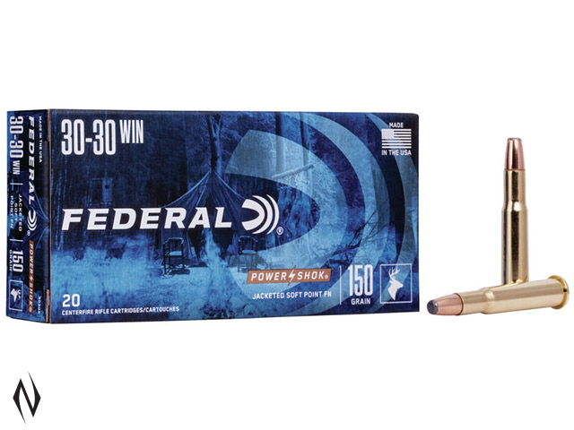 FEDERAL 30-30 WIN 150GR FN POWER-SHOK Image