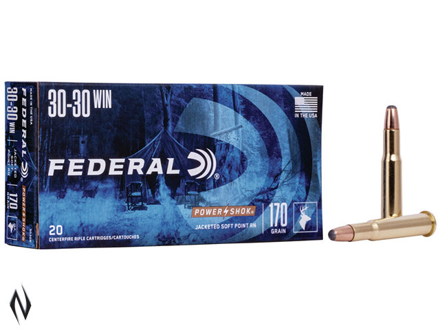 FEDERAL 30-30 WIN 170GR RN POWER-SHOK Image