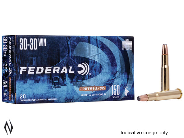 FEDERAL 30-30 WIN 125GR JHP POWER-SHOK Image